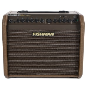"Fishman Loudbox Mini Charge 60-Watt 1x6.5"" Rechargeable Battery Powered Acoustic Guitar Combo"
