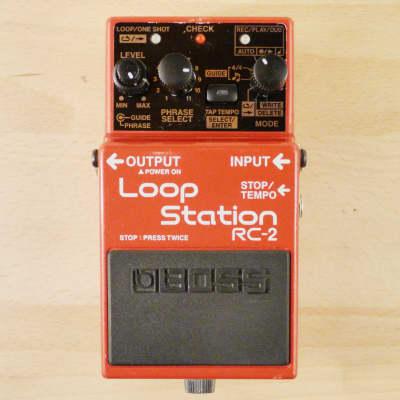 Boss rc-2 loop station | reverb.