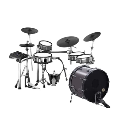 Roland TD-50KV-S-KD220 5-Piece V-Drum Kit with 22 Acoustic Electronic Bass Drum