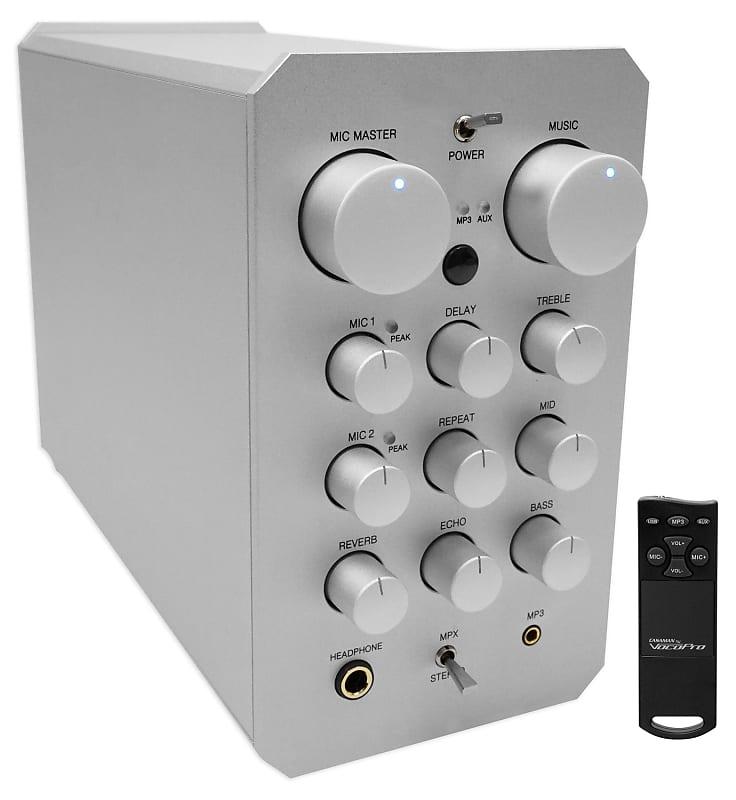 vocopro casaman 200w digital karaoke mixer amplifier receiver reverb. Black Bedroom Furniture Sets. Home Design Ideas