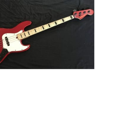 Performance Jazz Bass 2016 Candy Apple Red for sale