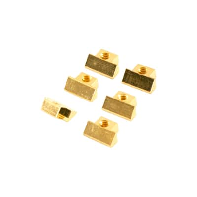 Kluson Replacement Abr-1 Gold Saddles. Fits Gibson USA wired bridge Les Paul , Flying V, Explorer