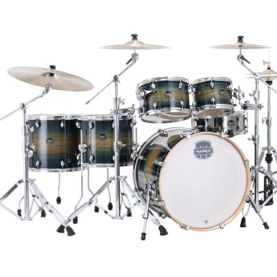 Mapex Armory Rainforest Burst Studioease FAST Kit 22x18/10x7/12x8/14x12/16x14/14x5.5 Drums   Dealer
