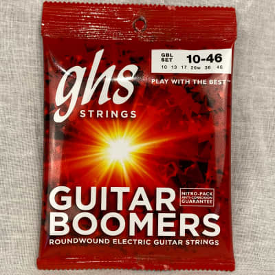 GHS GBL Guitar Boomers Electric Guitar Strings 10-46