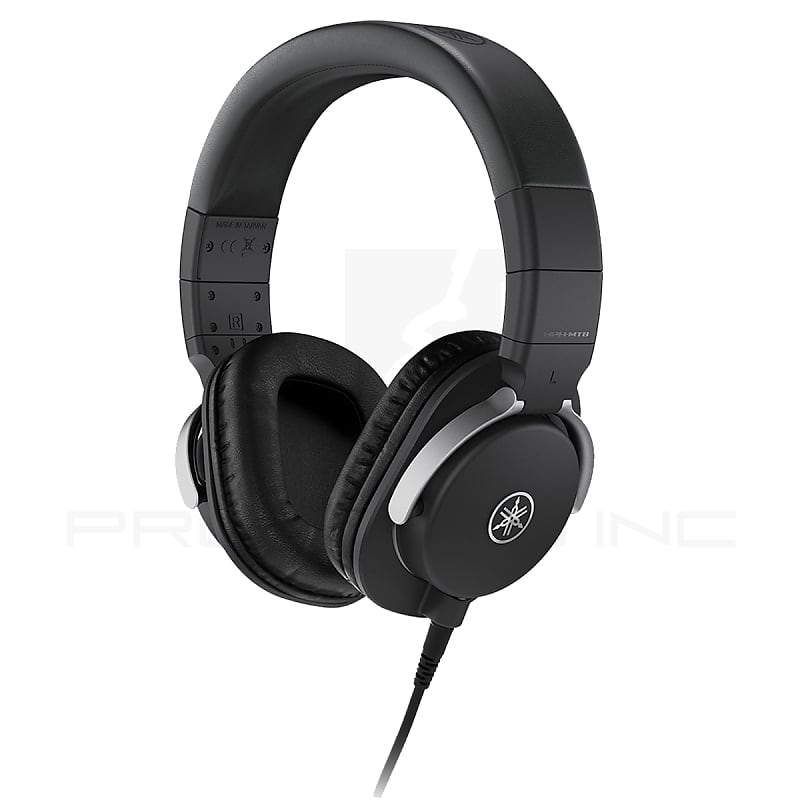 yamaha hph mt5 studio monitor headphones black reverb. Black Bedroom Furniture Sets. Home Design Ideas