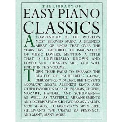 The Library of Easy Piano Classics (Piano Solo) (Library Of Series)