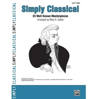 Simply Classical: 23 Well Known Masterpieces (Easy Piano)