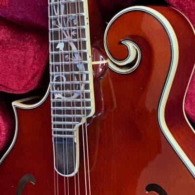 Michael Kelly F-style Dragonfly Custom Ltd Ed Mandolin Left-Handed early 2000s for sale