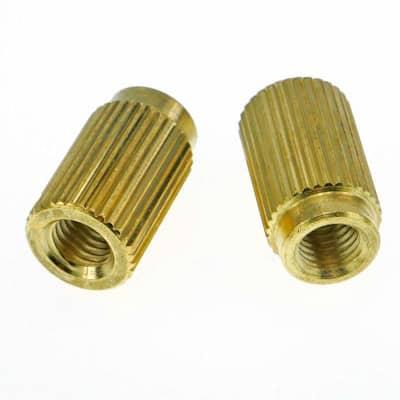 Faber 3164 Tailpiece Insert Bushings (INCH) Gloss Gold