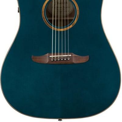 Fender California Series Redondo Classic Acoustic Guitar Cosmic Turquoise w/bag 0970913299 - Floor S for sale