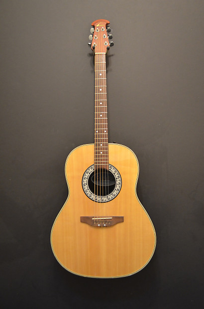 OVATION CELEBRITY ACOUSTIC (MODEL CC-11) - guitar-list
