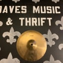 "Wuhan 10"" splash, excellent condition, and it's FREE! Just pay shipping! Daves Music & Thrift"
