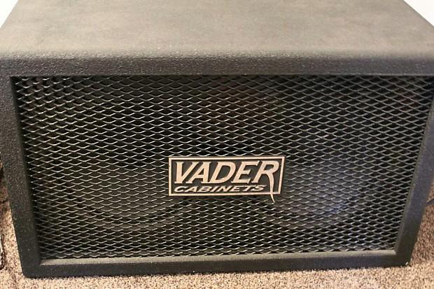 Vader 2x12 Cabinet 2010s Black | Reverb