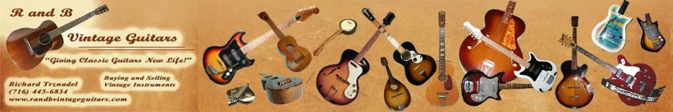 R and B Vintage Guitars