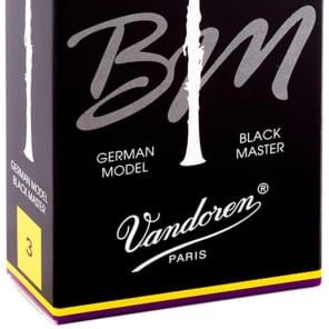 Vandoren CR183 Black Master Bb Clarinet Reeds - Strength 3 (Box of 10)