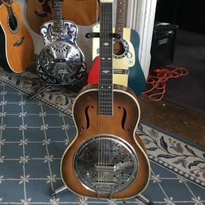 Stella Resonator Acoustic  1930's Tobacco Burst for sale