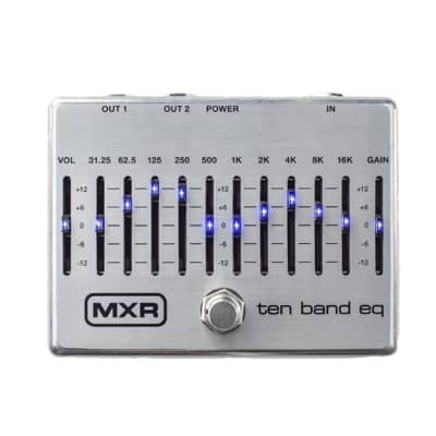 Mxr M108s Ten Band Graphic Eq for sale