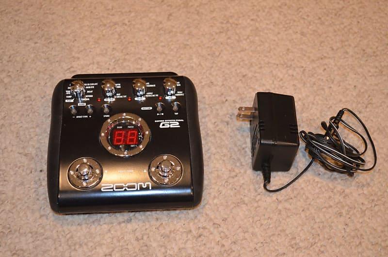 zoom g2 guitar multi effect pedal 2010 black reverb. Black Bedroom Furniture Sets. Home Design Ideas