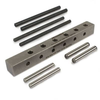 StewMac Guitar Tuner Drill Jig, 6-in-line for sale