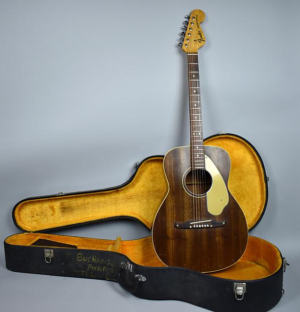 1968 Fender Newporter Vintage Acoustic Flat Top Guitar Original Finish W OHSC