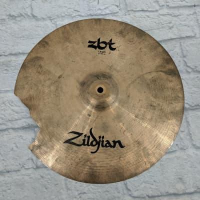"Zildjian ZBT 16"" Crash Cymbal (Cracked)"