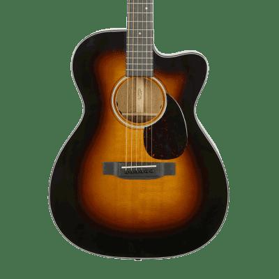 Martin OMC-18E Acoustic-Electric Guitar - Sunburst with Case - Demo