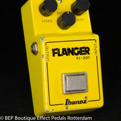 "Ibanez FL-301 Flanger 1981 Japan s/n 108967 with ""R"" Logo and Lock on Nut"