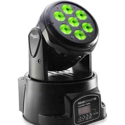 Stagg HeadBanger 10 LED moving head w/ 7 x 10-watt RGBW 4-in-1 LED
