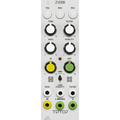 Tiptop Audio ZVERB The Reverbs Collection Eurorack Module, White