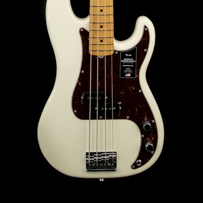 Fender American Professional II Precision Bass - Olympic White #70398