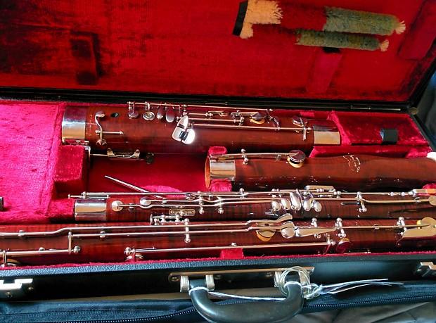 Gorgeous Kroner 450C bassoon (made by Adler/Mönnig, equiv  to current Adler  1361 Orchestra+ model)
