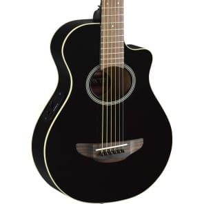 Yamaha APXT2 3/4 Size Acoustic/Electric Cutaway Guitar Black