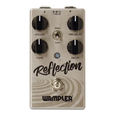 Wampler Reflection Reverb Guitar Bass FX Stomp Box Pedal - *Returned Unit*