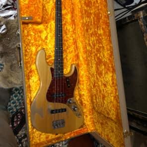 Fender Jazz Bass Neck Rosewood  *1961* Natural, RS guitarworks body Stack Knob for sale