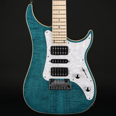 Vigier Excalibur Special in Deep Blue, Maple with Case #190023 for sale