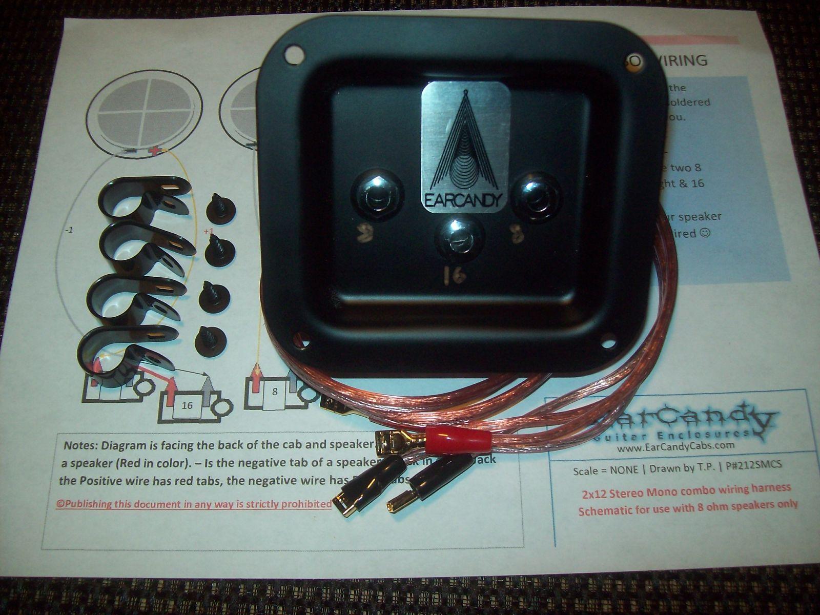 Outstanding Earcandy 2X12 2X10 Guitar Amp Speaker Cab Series Stereo Mono Combo 8 Wiring Digital Resources Zidurslowmaporg