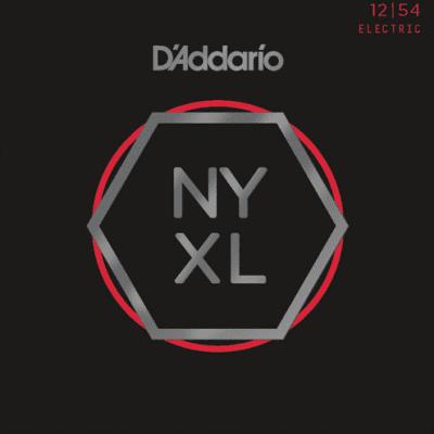 D'Addario NYXL1254 Nickel Wound Heavy Electric Strings 12-54
