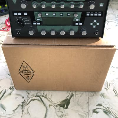 Kemper Profiler PowerHead 600-Watt Modeling Guitar Amp Head with remote pedal for sale