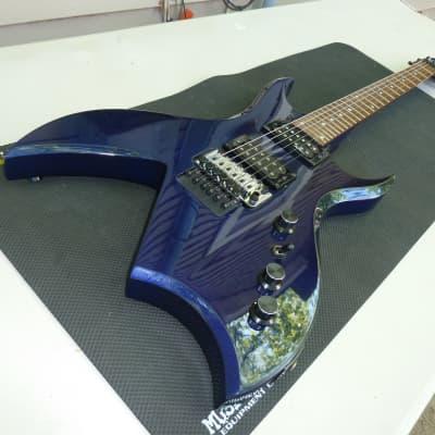 B.C. Rich Bich Platinum Pro 90's blue