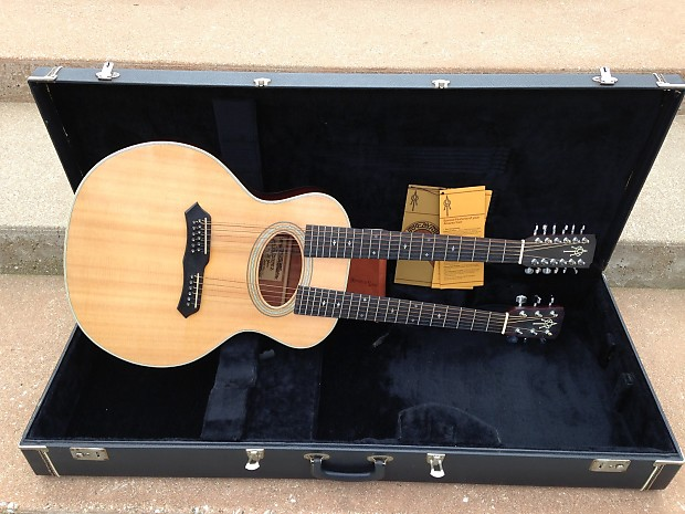 alvarez yairi ultra rare dy87 double neck acoustic w case reverb. Black Bedroom Furniture Sets. Home Design Ideas