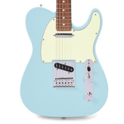 Fender Player Telecaster Daphne Blue w/3-Ply Mint Pickguard (CME Exclusive)