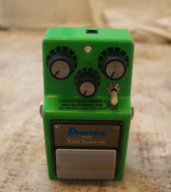 TS9 Tube Screamer (with Keeley and AnalogMan mods)