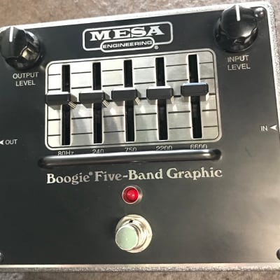 Mesa Boogie  Boogie Five Band Graphic EQ Black for sale
