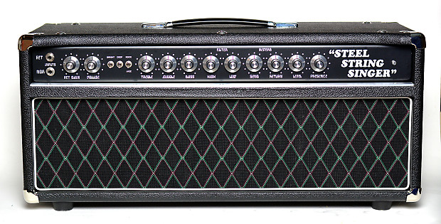 Amplified Nation Steel String Singer SSS #005 Clone 2015 Black Tolex with  Vox and Aluiminum