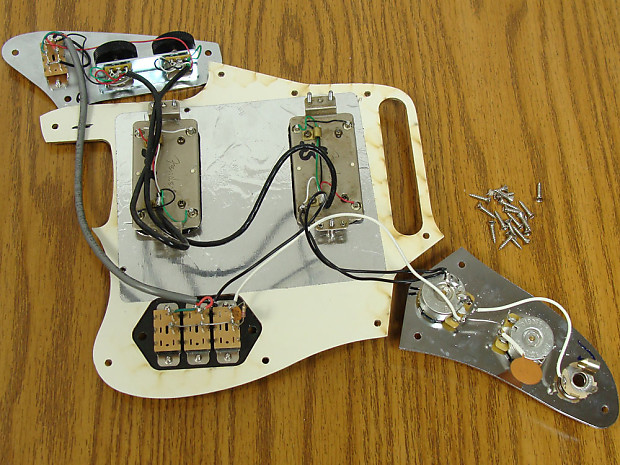 Wiring Fender Clic Player Jaguar - Wiring Schematics on