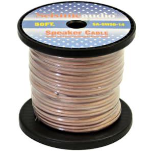 Seismic Audio SA-SW50-14 14-Gauge Raw Speaker Wire - 50' Spool