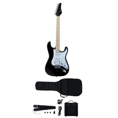 Kramer Focus Electric Guitar Player Pack, Black for sale