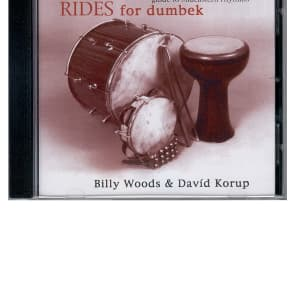 Mid-East CDDR Rhythm Rides Doumbek Instruction CD