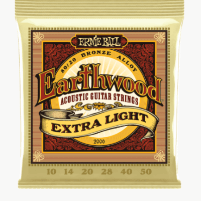 Ernie Ball Earthwood Acoustic Strings - Extra Light