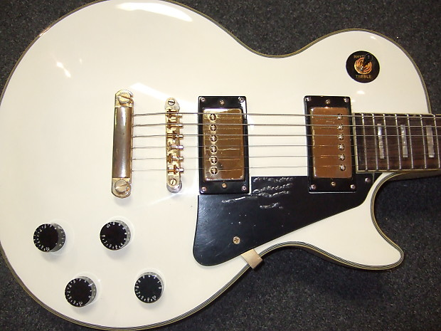 gibson epiphone les paul custom alpine white reverb. Black Bedroom Furniture Sets. Home Design Ideas